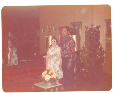 Lillian Lopez and Tony Mondesire
