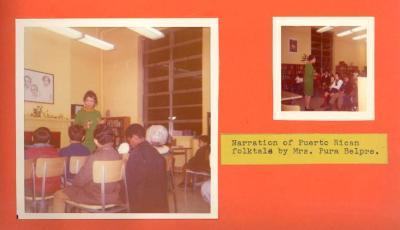 Narration of Puerto Rican folktale by Pura Belpré