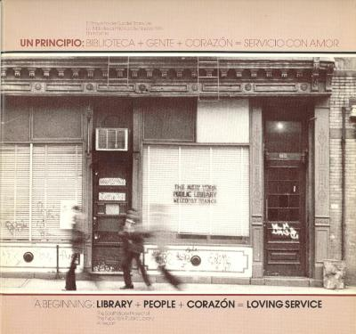 A Beginning: Library + People + Corazón = Loving Service