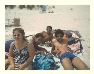 Lillian López, Tony Mondesire, Paul Mondesire and Tony Mondesire, Jr.