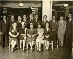 Jesús Colón with a community labor organization
