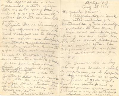 "Correspondence from ""Cecilia"" to Jesús Colón"