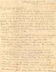 Correspondence to Jesús Colón from Concha Colón