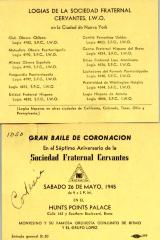 Gran Baile de Coronación / Great Ball Coronation