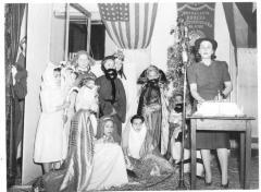 Nativity scene presented by the Mutualista Obrera Puertorriquena