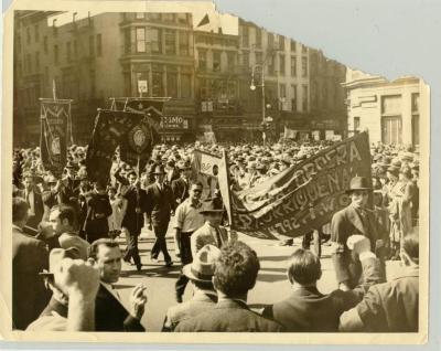 Labor rights parade