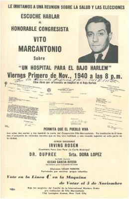 Un Hospital Para Bajo Harlem / A Hospital For Lower Harlem