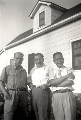 Jesús Colón, Bernardo Vega and Raúl Méndez
