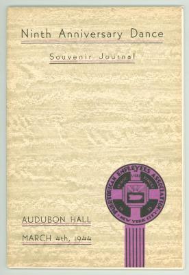 Ninth Anniversary Dance - Souvenir Journal