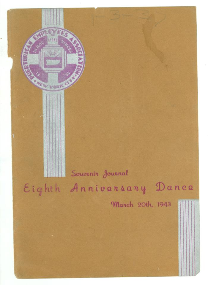 Eighth Anniversary Dance - Souvenir Journal