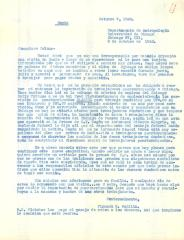 Correspondence to Jesús Colón from Firmado E. Padilla