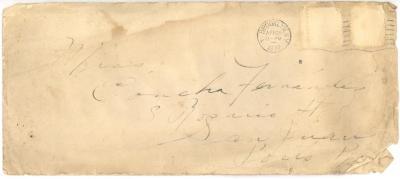 Envelope to Concha Fernandez from Jesús Colón