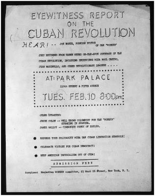 Eyewitness Report on the Cuban Revolution