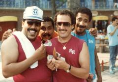 Ray Ramos with friends