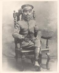 Pedro Albizu Campus with his ROTC uniform