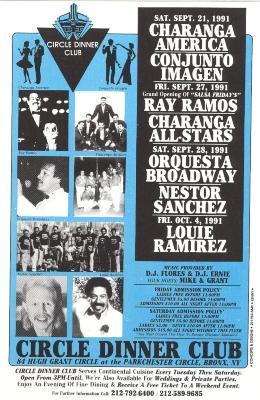 Ray Ramos concert flyer