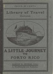 A Little Journey to Porto Rico, booklet