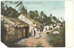 Native Huts, Porto Rico