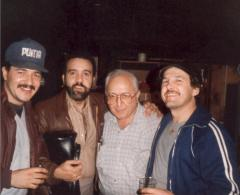Ray Ramos (far right) with family and friends