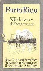Porto Rico The Island of Enchantment, booklet