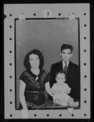 Ray Ramos as an infant with his parents