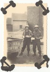 Victor M. Torres and a fellow soldier