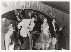 Performers dancing Cha-cha-cha