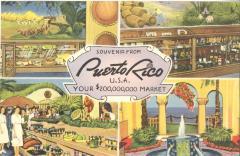 Souvenir from Puerto Rico, U.S.A