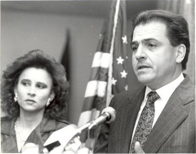 Nydia Velázquez and Rafael Hernández Colón