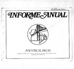 Annual Report 1982-83