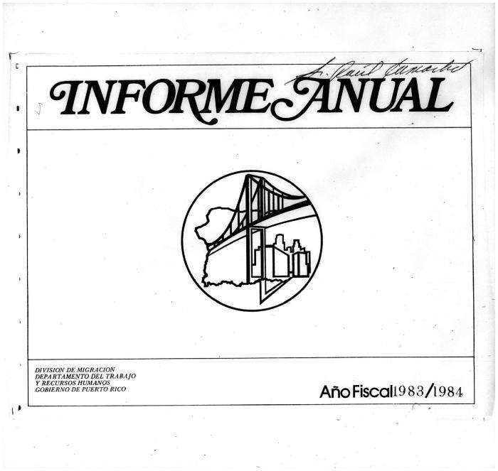 Annual Report 1983-84