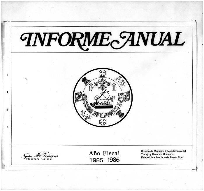 Annual Report 1985-86