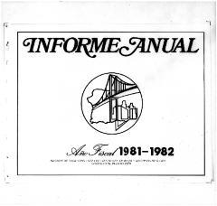 Annual Report 1981-82