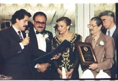 Nydia Velázquez Being Presented With Award