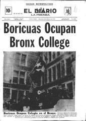 Boricuas Ocupan Bronx College / Boricuas Occupy Bronx College