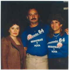 Avanzada '84, Registrate y Vota / Register and Vote