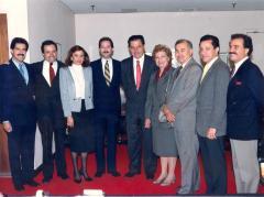 Jose Serrano, Nydia Velázquez, Rafael Hernández Colón, Fernando Ferrer, and Olga Méndez