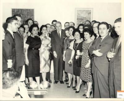 Group Photo With Puerto Rico Governor Luís Muñoz Marin