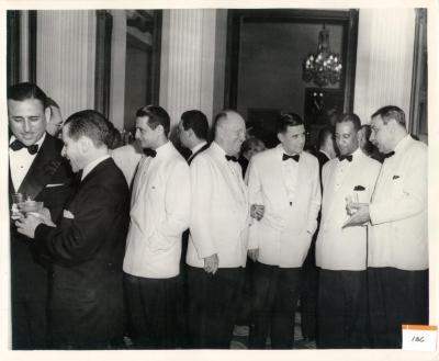 Luis Muñoz Marín Chatting With Others