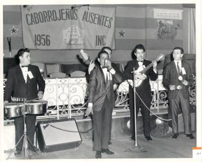 Performers at Caborrojeños Hometown Club