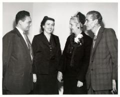 Joseph Monserrat, Felisa Rincón de Gautier and Genaro Gautier