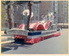 Commonwealth Office float in the Puerto Rican Day Parade