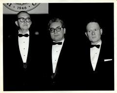 Joseph Monserrat (center)