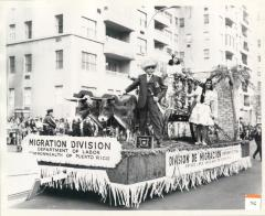 Migration Division Float at the Puerto Rican Day Parade