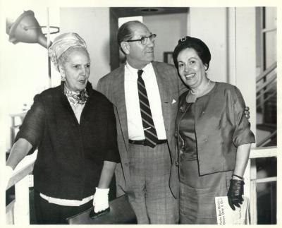 Felisa Rincón De Gautier (far left)