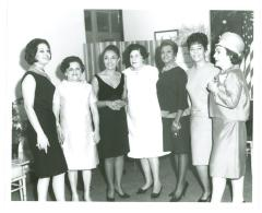 Miriam Colón (third from left)