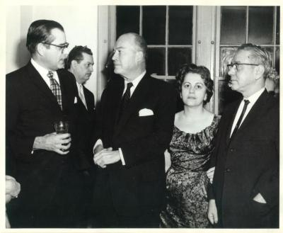 Cocktail to Arturo Morales Carrión at the Waldorf Astoria