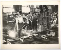 Steel workers in U.S.A.