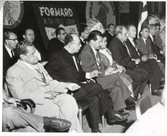 Luis Muñoz Marin visit to labor union