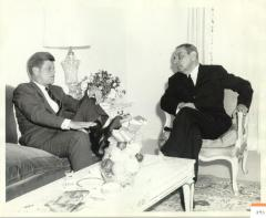 Luis Muñoz Marín and John F. Kennedy